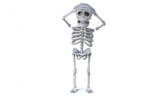 骸骨の誤解